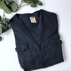 Levi's button down cardigan XL men's